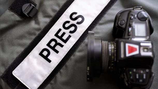 Европейская федерация журналистов обеспокоена нападениями на журналистов в Украине