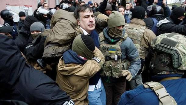 Саакашвілі різко відповів Луценку на звинувачення