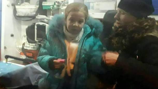 Малолетняя девочка пострадала в результате наезда авто в Киеве