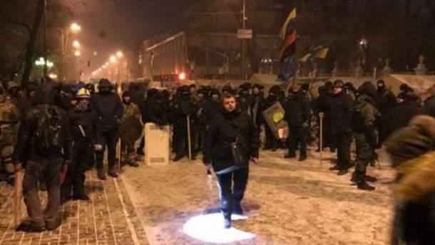 Штурм наметового містечка: у МВС прокоментували радикальні дії