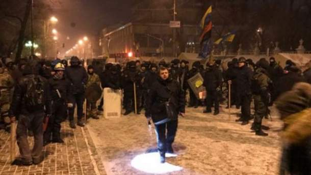 Штурм палаточного городка: в МВД прокомментировали радикальные действия