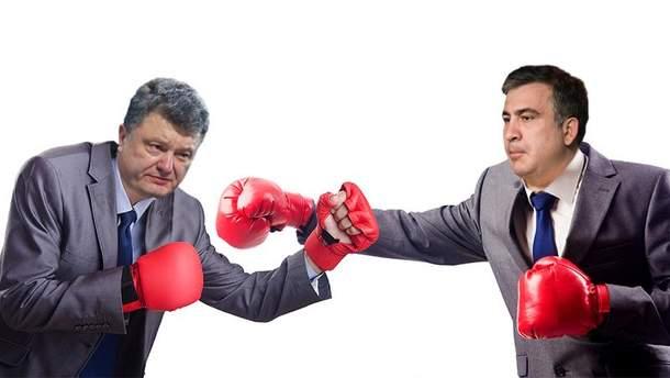 Порошенко проти Саакашвілі: хто кого