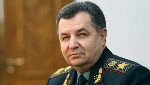 Полторак анонсував будівництво нових військових складів