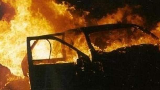 В Харькове взорвался автомобиль майора полиции