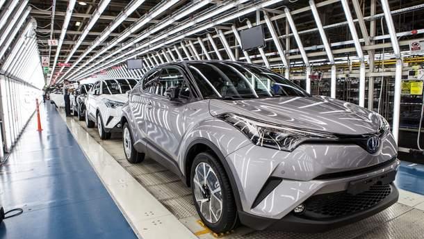 В Украине больше всего продается авто марки Toyota
