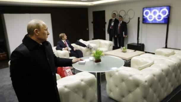 Олімпіада-2018: Путін прокоментував відсторонення збірної