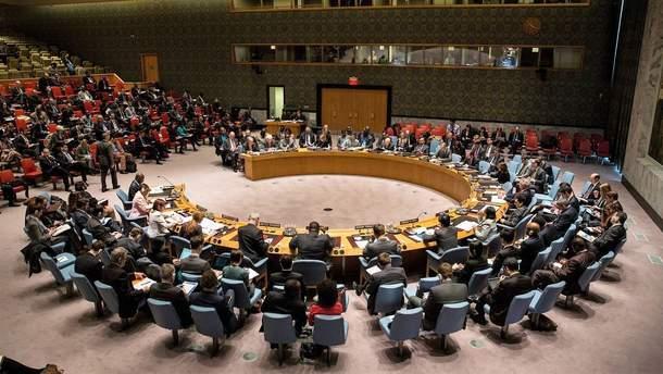 Радбез ООН збереться на засідання 8 грудня