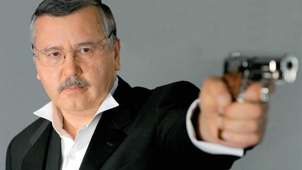 Гриценко обурено зреангував на відкриту проти нього у Росії кримінальну справу