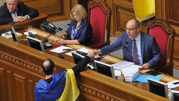Егор Соболев и Андрей Парубий