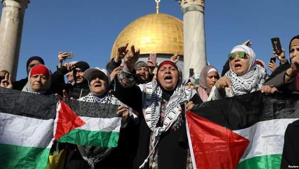 У Єрусалимі масові мітинги через рішення Трампа