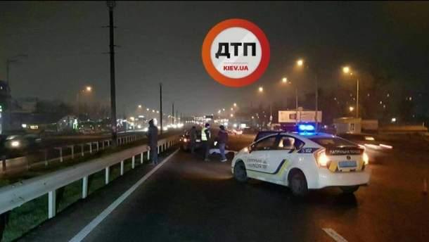 ДТП в Киеве на Большой Кольцевой
