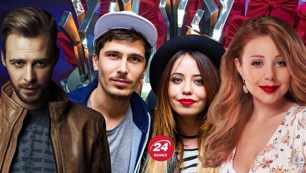 Названо найкращих виконавців в Україні на M1 Music Awards 2017