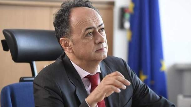 Голова представництва ЄС в Україні Х'юг Мінгареллі