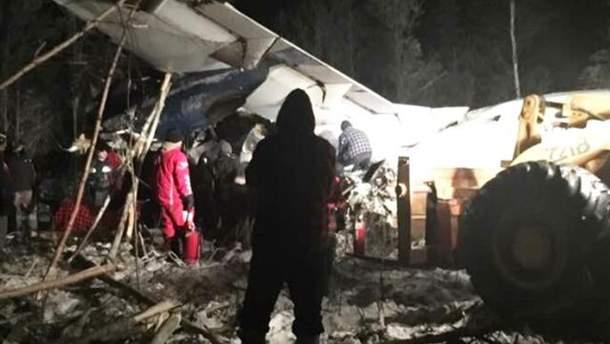 Авіакатастрофа у Канаді