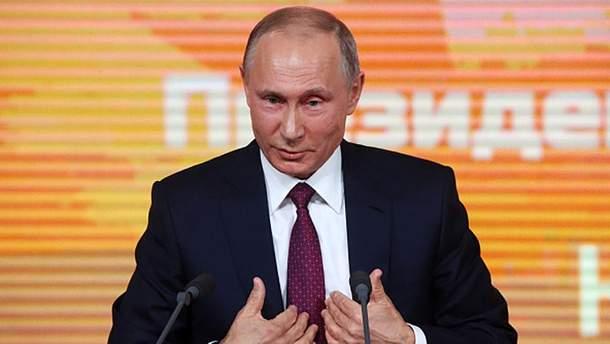 Путін розпочинає свої вибори