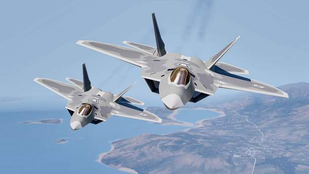 F-22 відкрили вогонь по російський Су-25
