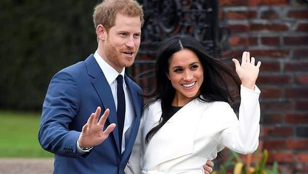 Весілля принца Гаррі та Меган Маркл: дата