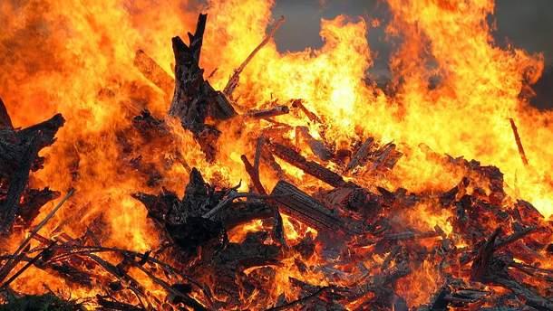 На Черкащині під час пожежі загинули четверо дітей
