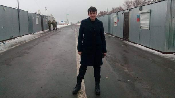 """Савченко сделала заявление относительно поездок в """"ЛДНР"""""""