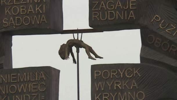 Новый памятник жертвам Волынской трагедии