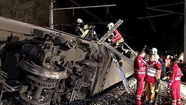 Железнодорожная авария в Австрии