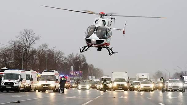 Аварія на Слов'янському бульварі у Москві: 4 людини загинули, 11 зазнали поранень