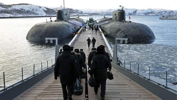 НАТО б'є на сполох через активність російських субмарин в Атлантичному океані