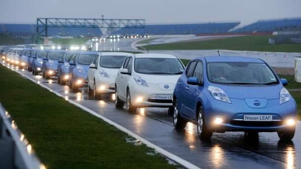 Вартість Nissan Leaf у США зростає
