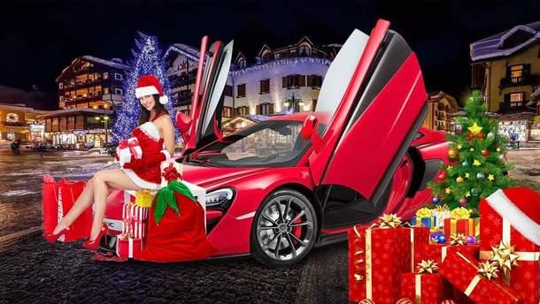 Новый год автомобильный