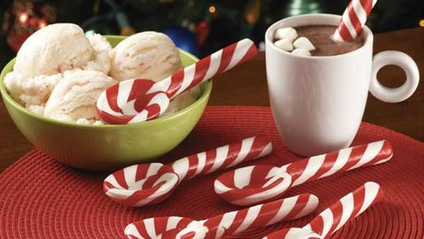 """Как приготовить рождественские конфеты """"тросточки"""""""