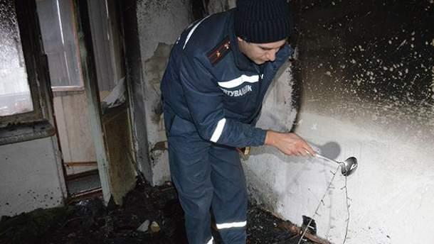 В Николаеве в пожаре погибли молодые супруги