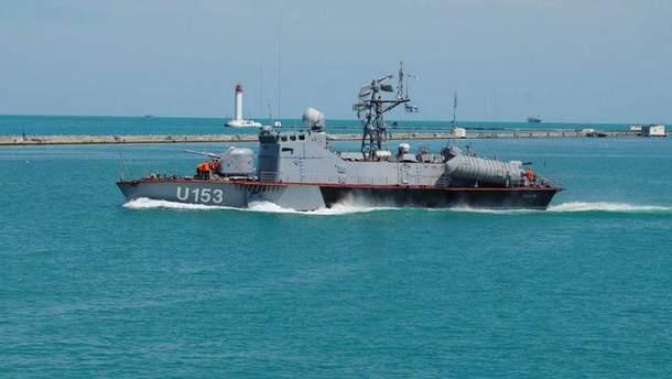 В новогоднюю ночь СБУшники и военные преследовали судно
