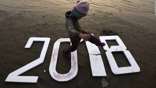 В оккупированном Крыму встретили Новый год с Украиной