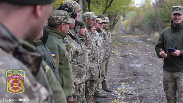 Бойцы Закарпатского легиона поздравили украинцев с Новым годом зрелищным видео