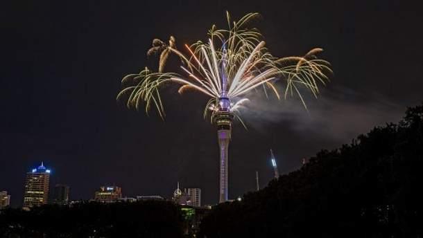 Празднование Нового года в Новой Зеландии