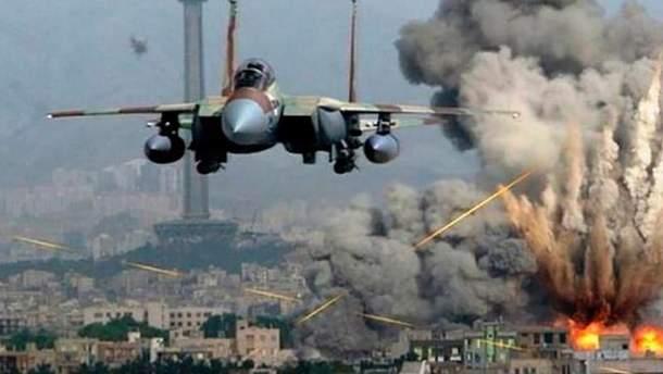 Израиль нанес авиаудар по ХАМАС