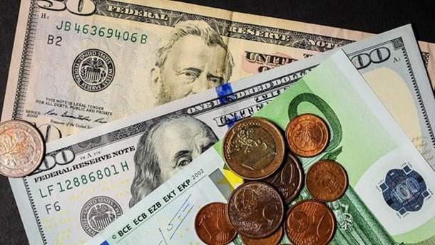 Наличный курс валют 2 января в Украине
