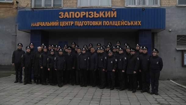 Запорожские патрульные приняли присягу