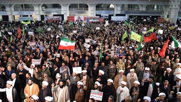 Массовые протесты в Иране
