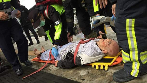 70-літній чоловік потрапив під поїзд на Тайвані