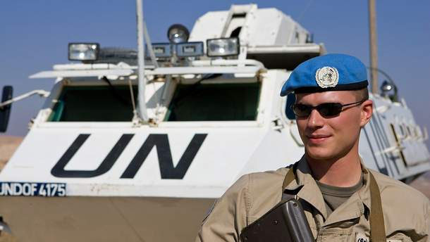 Миротворческого контенгента ООН в ближайшее время на Донбассе не будет?