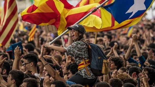 1 жовтня у Каталонії відбувся референдум за незалежність
