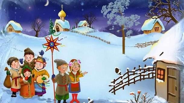 Когда колядуют, щедруют и посевают в Украине