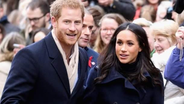 Весілля принца Гаррі та Меган Маркл відбудеться 19 травня