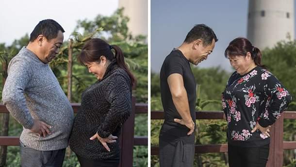 Ціла родина вирішила схуднути