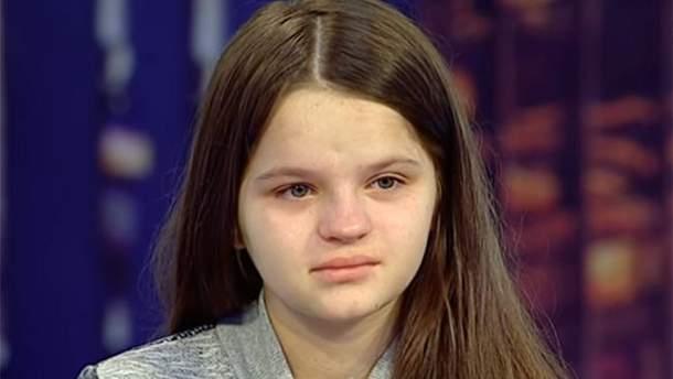 12-летняя мама Татьяна Лучишин