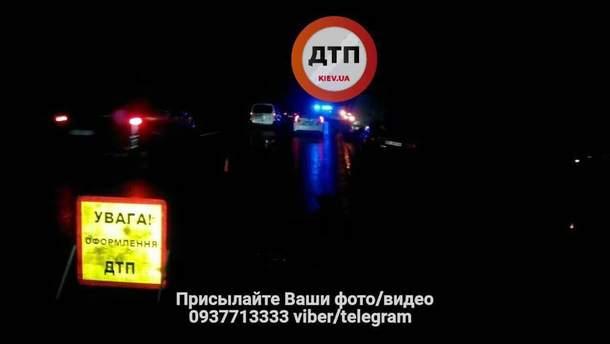 Авария под Киевом