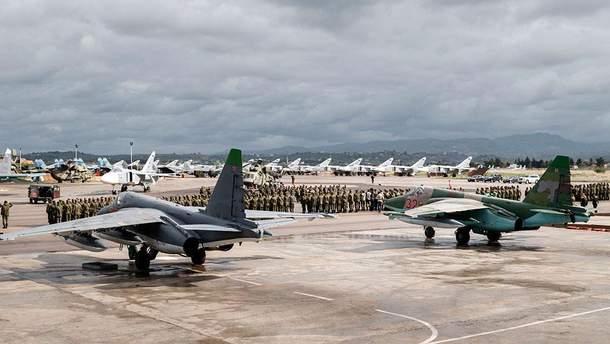 Нападение на российскую авиабазу Хмеймим в Сирии