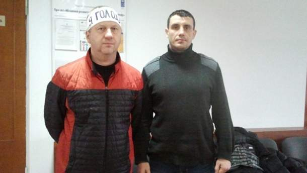 Володимир Бугайов і Андрій Карпенко