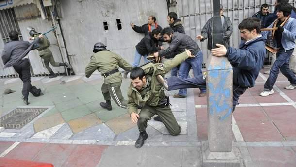 Протесты  в Иране